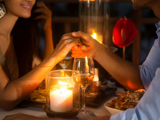 Romantic dinner Auberge Godefroy