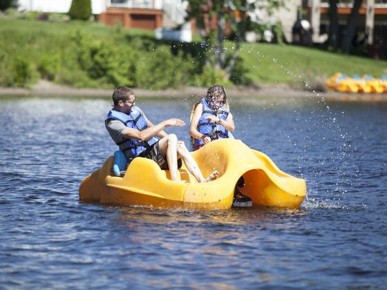 Activity pedalo Manoir du lac William