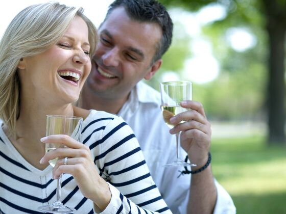 Romantic getaway couple Auberge West Brome